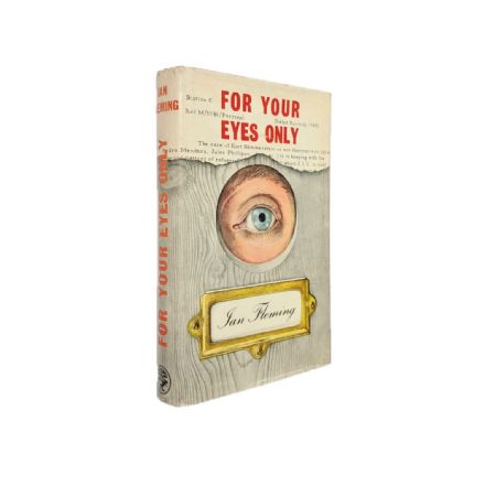 For Your Eyes Only Signed by Ian Fleming First Edition Jonathan Cape 1960